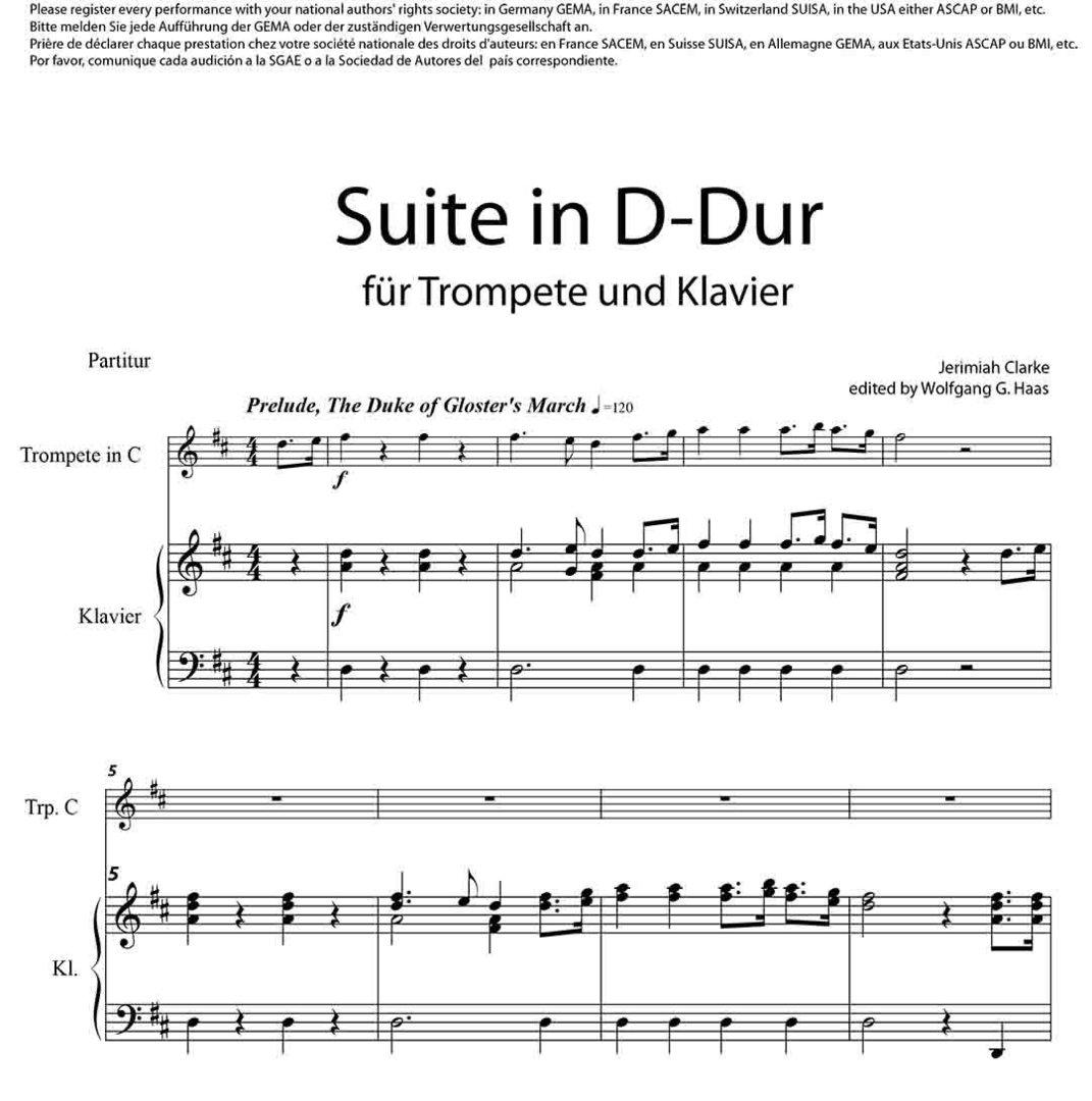 Suite in D Major