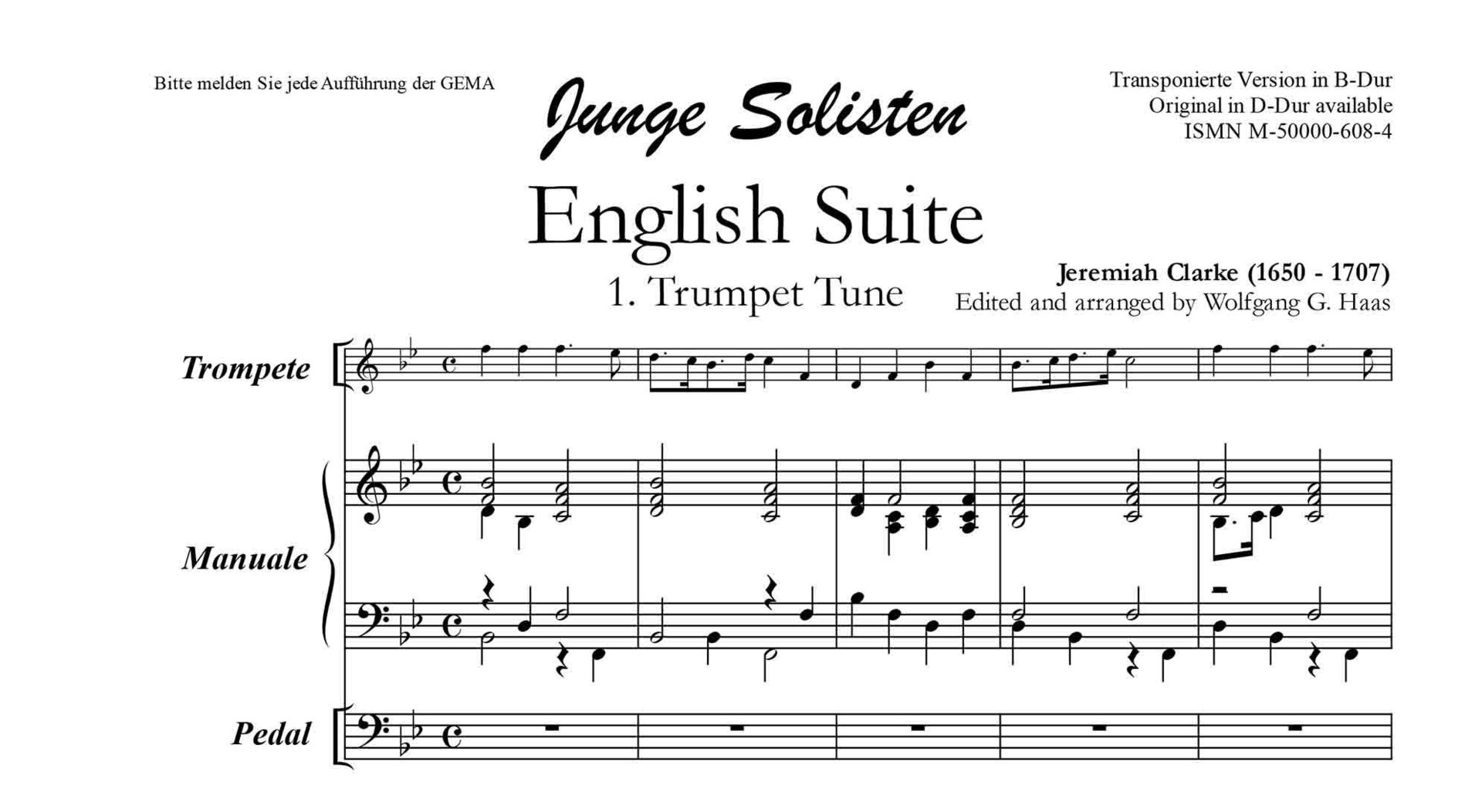 music repertoire englisch