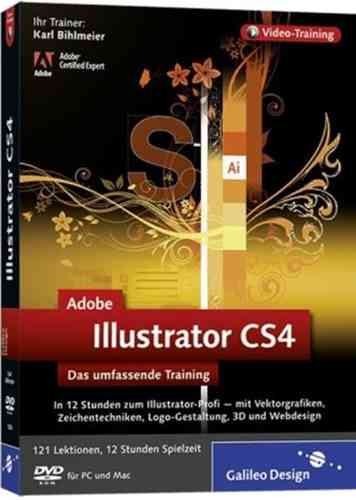 Adobe Illustrator CS4 - Das umfassende Training auf DVD