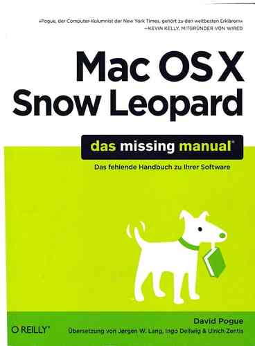 Mac OSX Snow Leopard, das missing manual