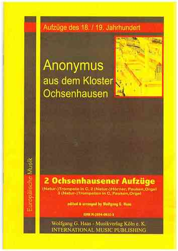 Anonymous (Ochsenhausen) 18th / 19th Century. -Two Prozessionales from Ochsenhausen