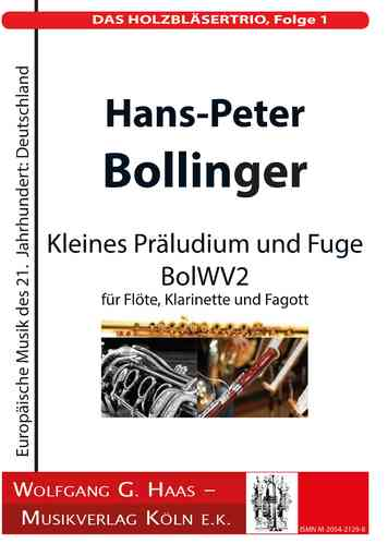 Bollinger, H.-P .; THE WOODWORK TRIO, Episode 1; BolWV 2