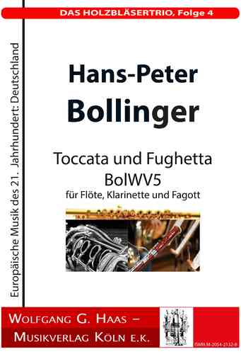 Bollinger, H.-P .; THE WOODWORK TRIO, Episode 4; BolWV 5