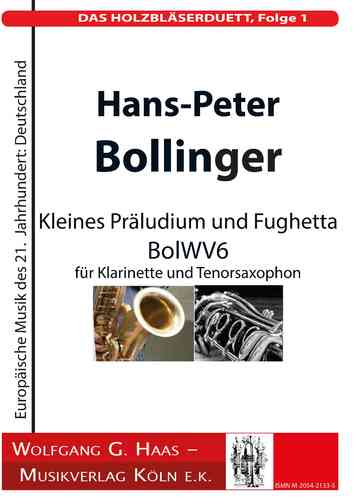 Bollinger, H.-P .; THE WOODWORK DUETT, Episode 1; BolWV 6