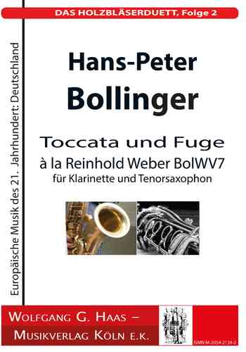 Bollinger, H.-P .; THE WOODWORK DUETT, Episode 2; BolWV 7