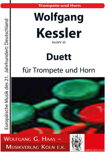 Kessler, Wolfgang * 1945 Duet for trumpet and Valve horn KesWV35