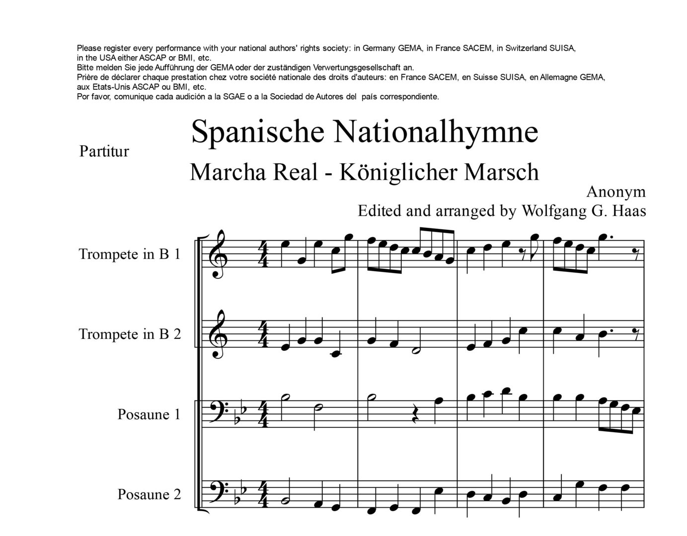 Spanische Hymne