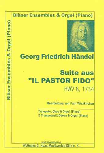 Händel, Georg Friedr.1685-1759;Suite of il pastor fido for 2 Trumpets (or 1 Trp /Oboe), Orgel