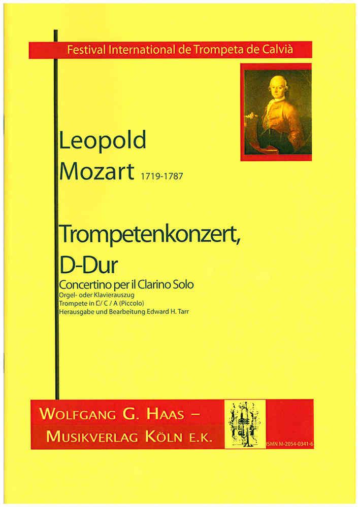 Mozart,Leopold 1719-1787 Trumpet Concerto in D major (Trumpet and Piano /  Organ)
