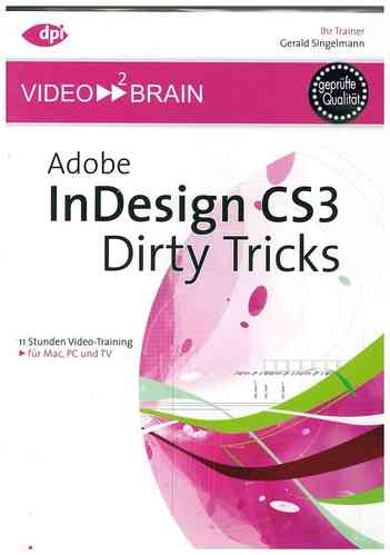 ADOBE InDesign CS3 Dirty Tricks