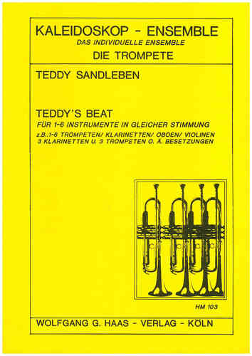 Sandleben,Teddy *1933 -Teddy's Beat for 6 trumpets (clarinets)