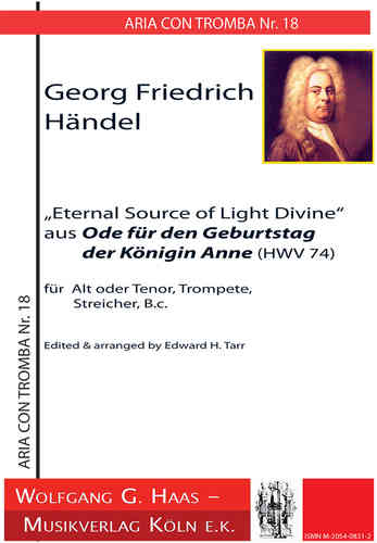 "Händel, Georg Fr.,Arie ""Eternal Source of Light"""