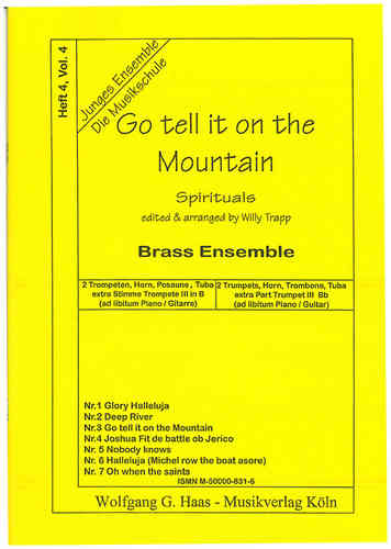 Trapp, Willy 1923-2013; Go tell it on the Mountain, 8 Spirituals