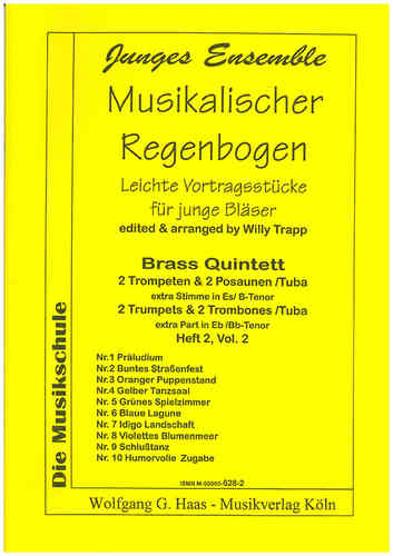 Trapp, Willy 1923-2013; Musikalischer Regenbogen; Brass quartet