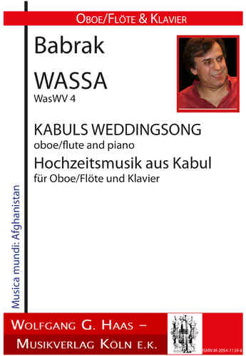Wassa, Babrak, Kabul's Wedding Song for oboe / flute and piano