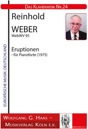 Weber, Reinhold 1927-2013 Eruption; WebWV 95