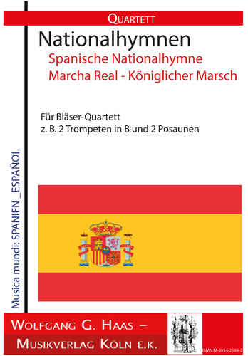National anthems Spanish national anthem Marcha Real - Royal March