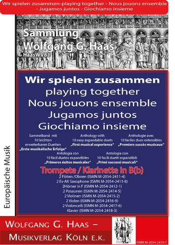 Haas,Wolfgang G.: First musical successes
