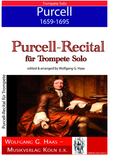 Purcell,Henry 1659-1695 Purcell-Recital für Trompete Solo