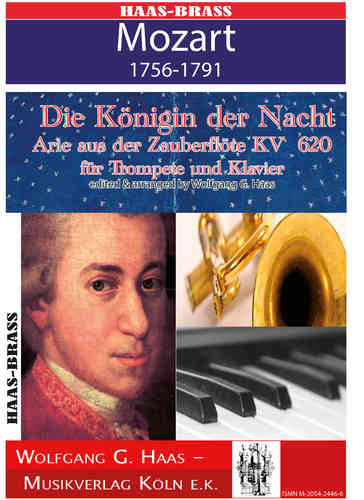 Mozart,Wolfgang A._ The Queen of the Night Aria from the Magic Flute K. 620 for trumpet and piano